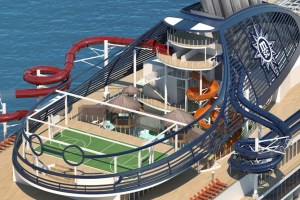Most interactive aqua park at sea