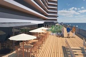 Open air promenade