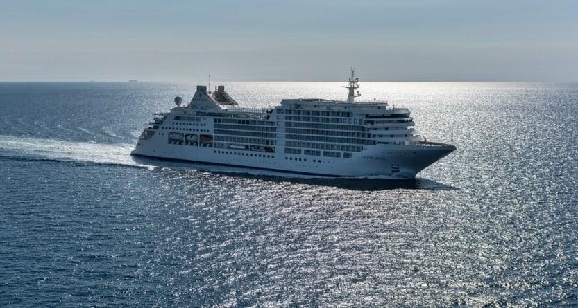 Silversea, completate le prove in mare di Silver Muse. Il battesimo il 19 aprile a Monaco