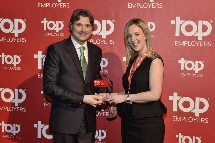 A Costa Crociere la certificazione Top Employers per il quarto anno consecutivo