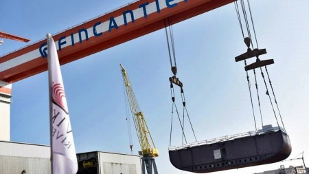 Fincantieri, al via i lavori in bacino per Viking Spirit