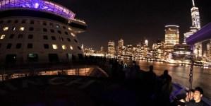 VIDEO: Anthem of the Seas naviga tra i grattacieli di New York