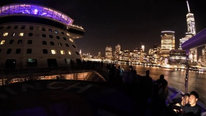 VIDEO: Anthem of the Seas naviga tra i grattacieli di New York