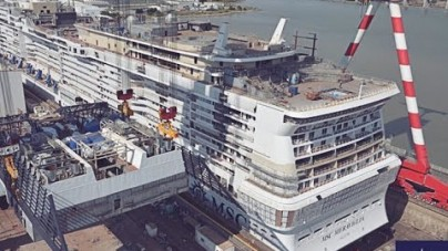 VIDEO: MSC Meraviglia, preview dai cantieri e tour virtuale