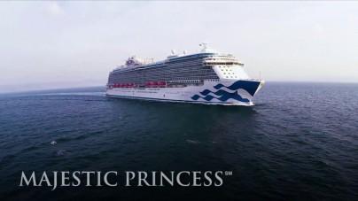 VIDEO: Princess Cruises, anteprima Majestic Princess
