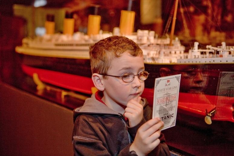 Titanic, la mostra