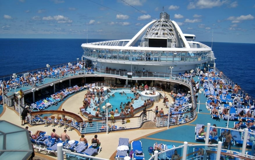 Princess Cruises: pronta al restyling Caribbean Princess