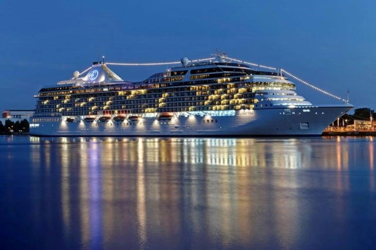 Da oceania cruises nuove amenities per gli ospiti delle for Piani di cabina di log gratuiti