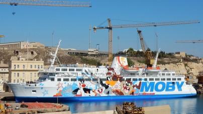 Collegamenti con l'Isola d'Elba: da oggi operativa la rinnovata Moby Kiss