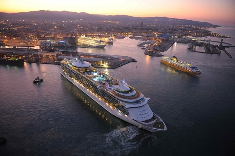 Porto di Livorno, Royal Caribbean International