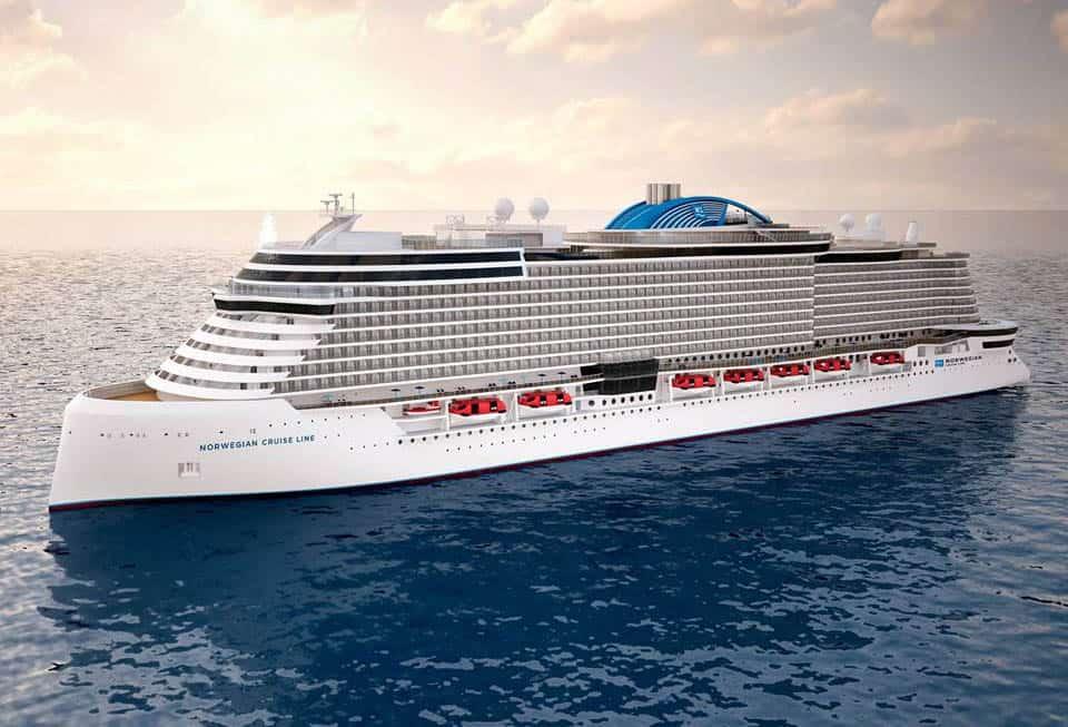 Progetto Leonardo Norwegian Cruise Line Fincantieri