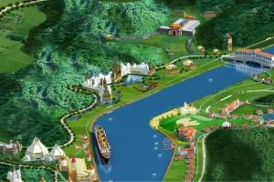 Titanic theme park, Sichuan, Cina
