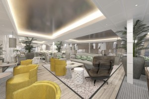 Celebrity Edge Suite Lounge 2
