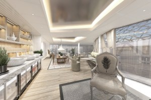 Celebrity Edge Suite Lounge