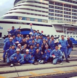I cantieri giapponesi Mitsubishi consegnano la nuova AIDAperla. Il 30 giugno il battesimo a Palma di Maiorca