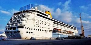 Costa Crociere torna a Reggio Calabria. Ieri il primo scalo della neoRiviera