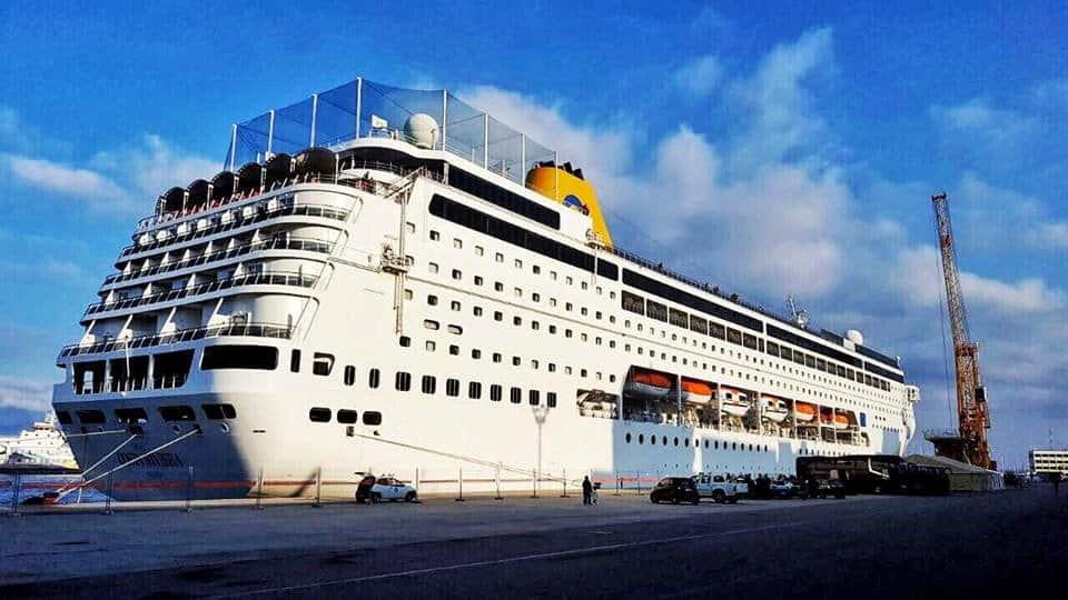 Costa Crociere Torna A Reggio Calabria Ieri Il Primo