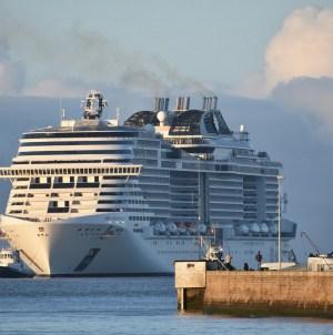 MSC Meraviglia pronta al secondo ciclo di prove in mare