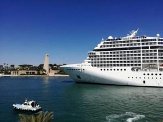 Maiden Call a Brindisi per MSC Musica. Attesa nella nuova stagione una movimentazione di 100.000 passeggeri