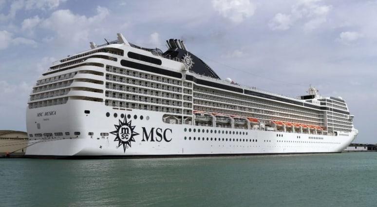 MSC Musica, MSC Crociere, Brindisi