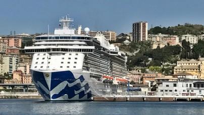 Majestic Princess: la Love Boat più orientale di sempre approda a Genova