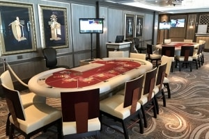 Majestic Princess, VIP Casino