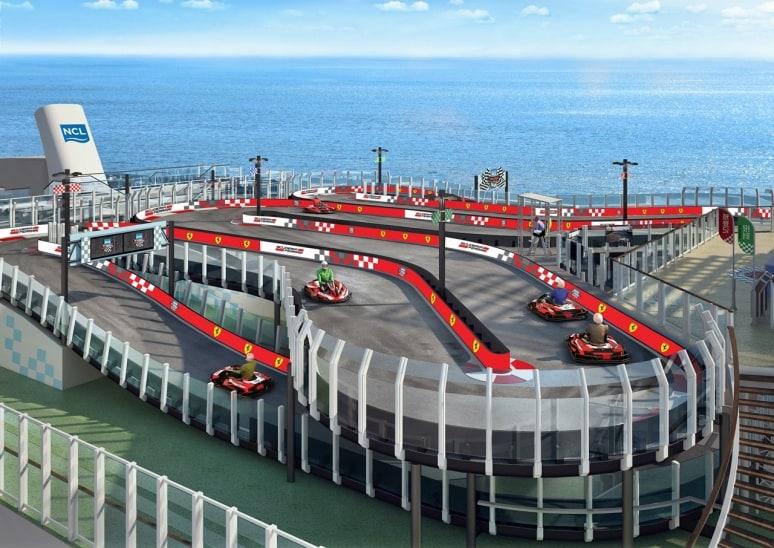 Norwegian Joy, Ferrari, Norwegian Cruise Line (1)