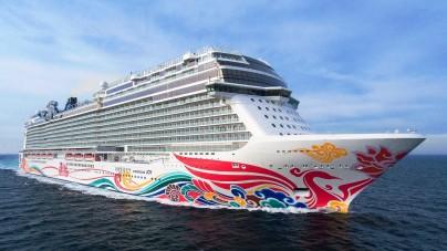 Norwegian Cruise Line prende in consegna la nuova Norwegian Joy. E' la prima nave NCL progettata per il mercato cinese