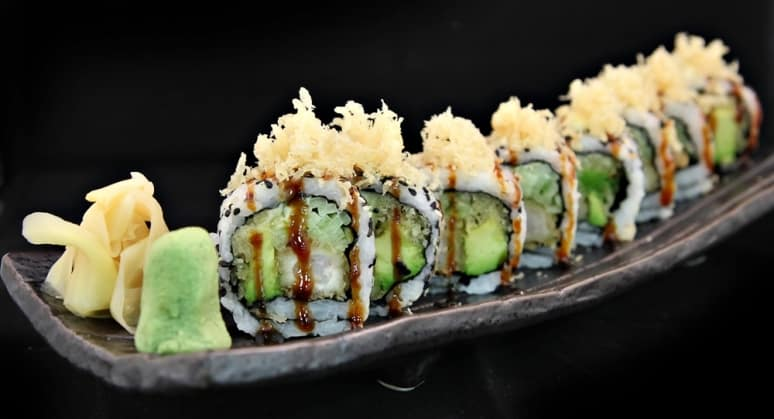 Sushi, Carnival Cruise Line