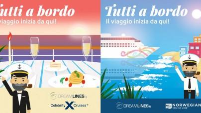 """Torna a maggio """"Tutti a bordo"""" con Dreamlines Crociere"""