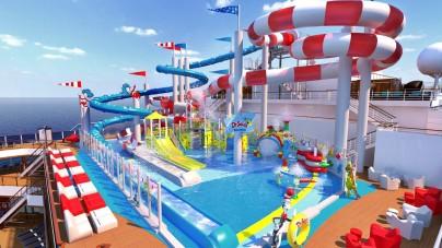 Carnival Horizon, a bordo il primo parco acquatico Dr. Seuss