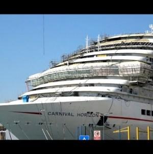 VIDEO: Carnival Horizon, anteprima dagli stabilimenti Fincantieri