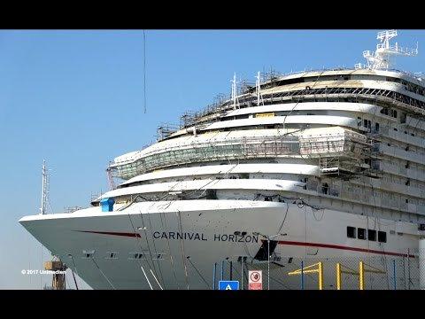 Carnival Horizon: anteprima dagli stabilimenti Fincantieri