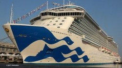 VIDEO: Majestic Princess, il maiden call a Trieste in 4K