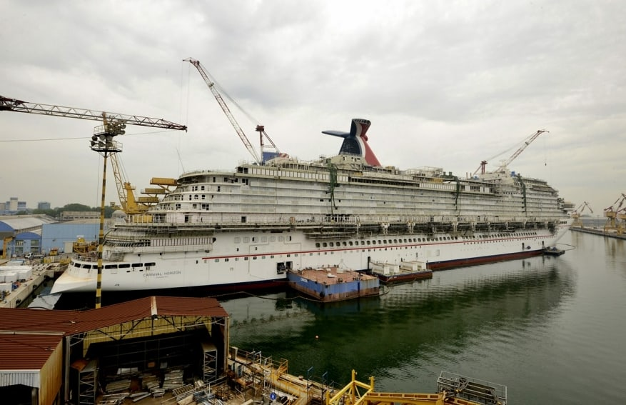 Carnival Horizon: nuove foto della costruzione in arrivo da Marghera