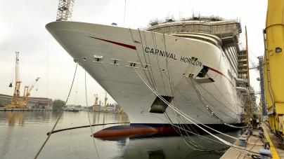 Prime prove in mare per Carnival Horizon. Online il virtual tour completo