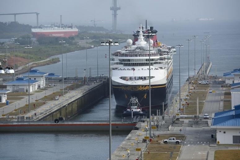 Disney Wonder, Disney Cruise Line, Canale di Panama 2