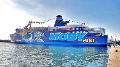 Moby Lines, presentata la nuova Moby Niki