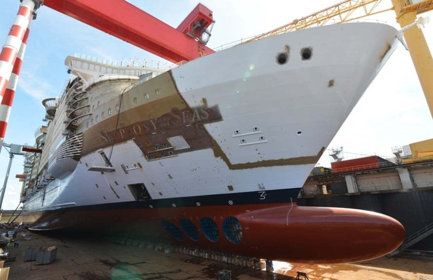 Symphony of the Seas: in arrivo nuove immagini ufficiali dal cantiere