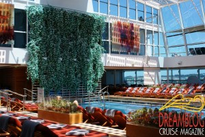 Celebrity Reflection - Solarium Pool