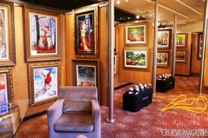 Celebrity Reflection - Art Gallery