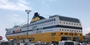 Corsica Ferries: una giornata di celebrazioni in onore di Pascal Lota. Ieri il debutto ufficiale della nuova ammiraglia della Compagnia