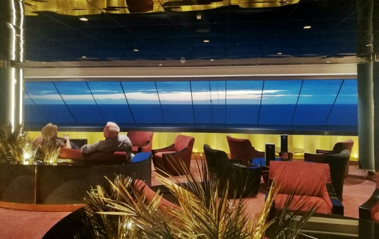 Top Sail Lounge, MSC Meraviglia, MSC Crociere