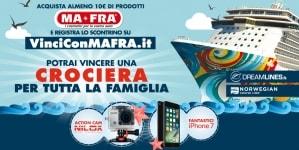 Da Mafra e Dreamlines un nuovo concorso a premi per vincere una crociera Norwegian Cruise Line per tutta la famiglia
