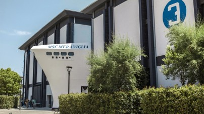 MSC Meraviglia fa scalo a Cinecittà World!