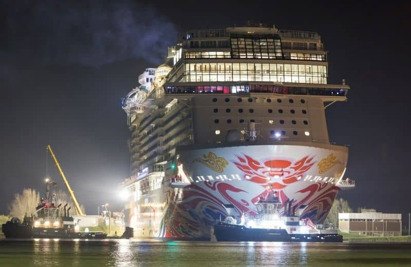 Ncl Norwegian Joy Pronta Al Debutto In Cina Il Battesimo Il 27 Giugno Dream Blog Cruise Magazine