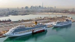 Il porto di Dubai chiude la stagione crocieristica con oltre 625.000 pax e 157 scali