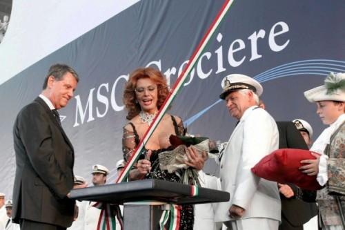 Sophia Loren, MSC Crociere