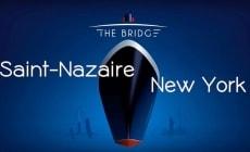 """Queen Mary 2 """"sfida"""" quattro famosi trimarani nell'Atlantico del Nord in occasione del """"The Bridge 2017"""""""
