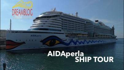 VIDEO: AIDAperla, il nostro ship tour completo